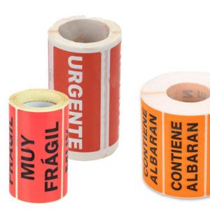 Etiquetas de embalaje
